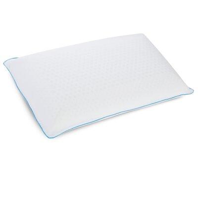 Cool Sleep Plush Latex Gel Fiber Pillow Size: King