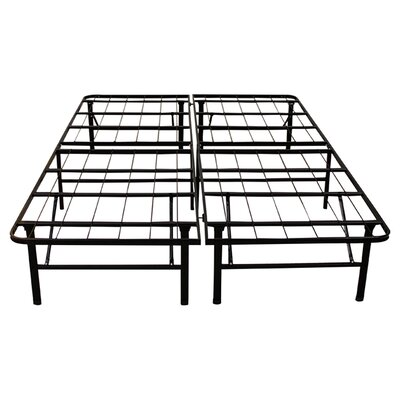 14 Platform Heavy Duty Metal Bed Frame Size: Twin