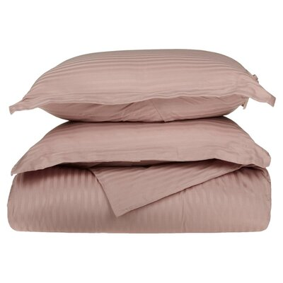 300 Thread Count Duvet Set Size: Twin, Color: Lavender