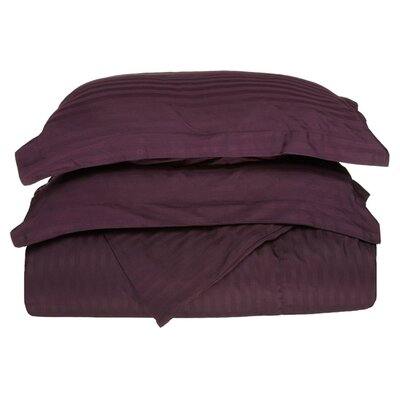 300 Thread Count Duvet Set Size: Full / Queen, Color: Plum