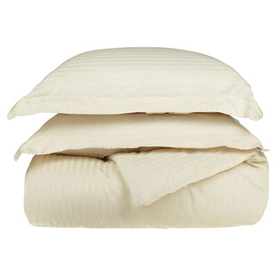 300 Thread Count Duvet Set Size: Twin, Color: Ivory