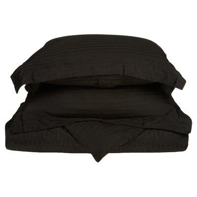 300 Thread Count Duvet Set Size: King / California King, Color: Black