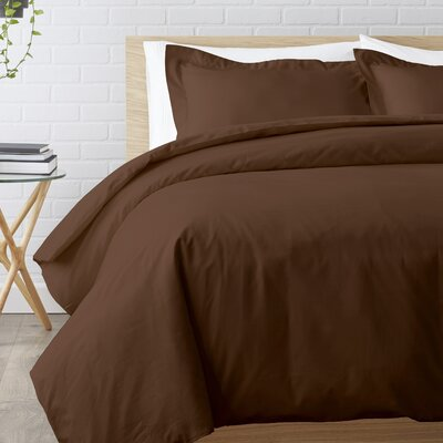 Duvet Set Size: Full / Queen, Color: Chocolate