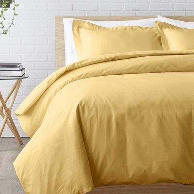 Duvet Set Color: Gold, Size: Twin XL