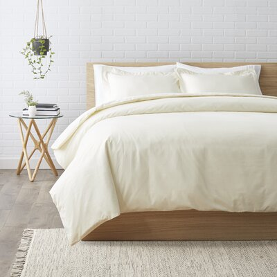 Duvet Set Size: Full / Queen, Color: Ivory