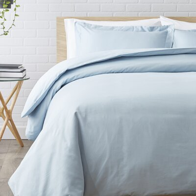 Duvet Set Size: Full / Queen, Color: Light Blue
