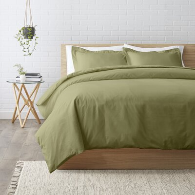 Duvet Set Color: Sage, Size: Twin XL