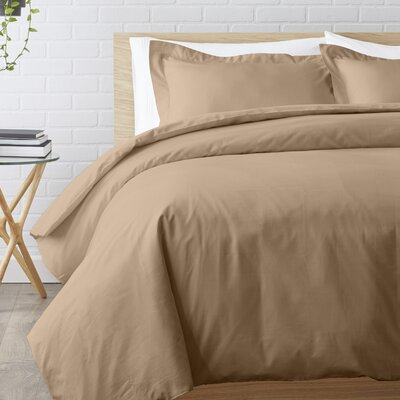 Duvet Set Size: Twin, Color: Taupe
