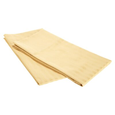 Pillow Case Size: King, Color: Gold