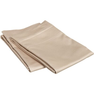Pillow Case Size: King, Color: Linen
