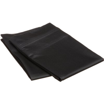 Pillow Case  Size: Standard, Color: Black