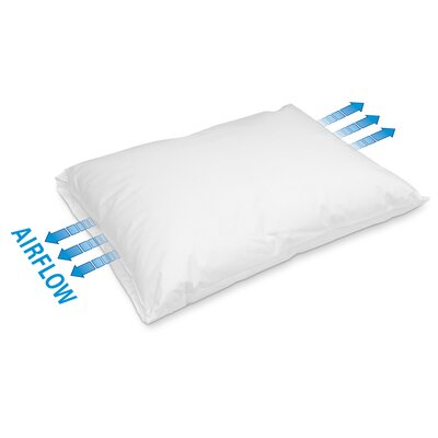 Breathable Waterproof Polyfill Pillow Size: King