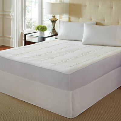 Premier Quilted Memory Foam Mattress Pad Size: Twin