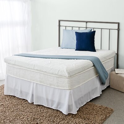 Green Tea 4 Memory Foam Mattress Topper Size: Twin