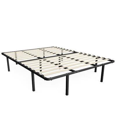 Mattress Foundation/Platform Bed Frame Mattress Size: King