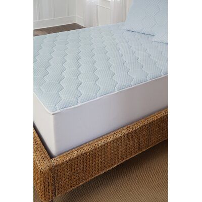 Cool-Gel Memory Foam Mattress Pad Size: Queen