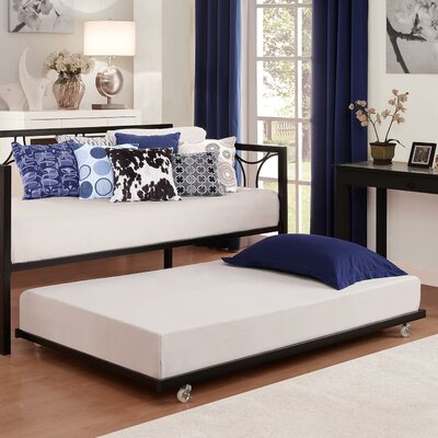 Universal Daybed Trundle Unit Color: Black