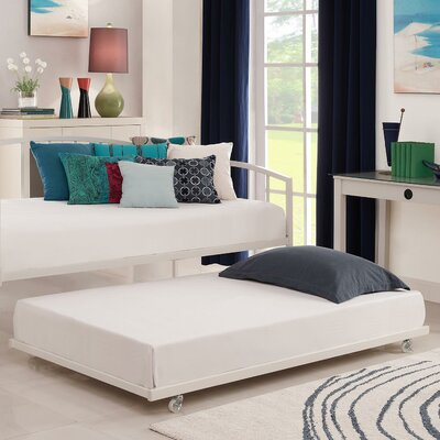 Universal Daybed Trundle Unit Color: White