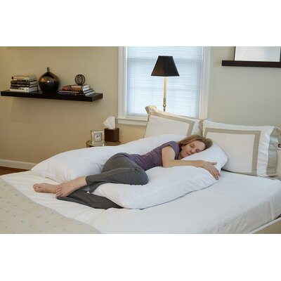 Total Body U-Shaped Polyfill Pillow Size: 6 H x 43 W x 66 D