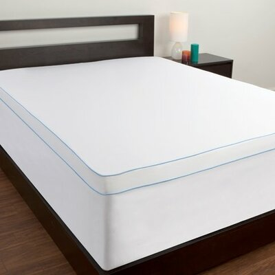 Memory Foam Topper Cover Size: Twin