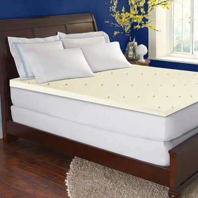 High Density Foam Mattress Topper Size: King
