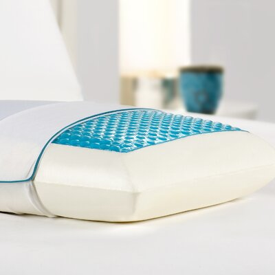 Bed Memory Foam and Hydraluxe Gel Pillow Size: King