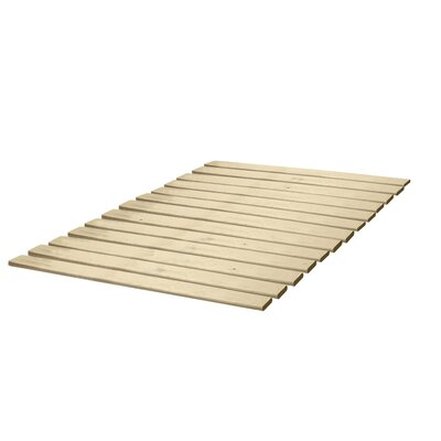 Attached Solid Wood Bed Support Slats - Bunkie Board Size: Twin XL, Style: Standard