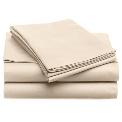 Quintal Sheet Set Size: King, Color: Ivory
