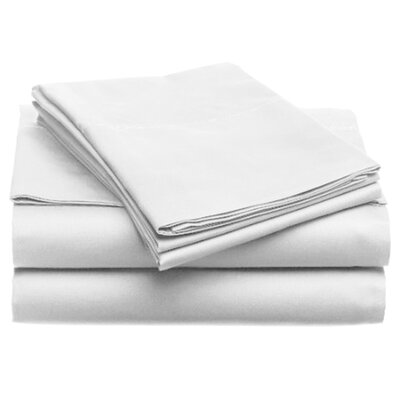 Quintal Sheet Set Size: King, Color: White