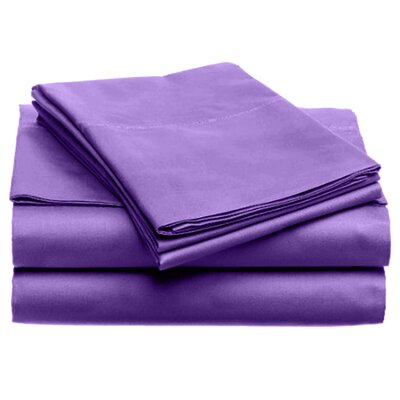 Quintal Sheet Set Size: Full, Color: Purple