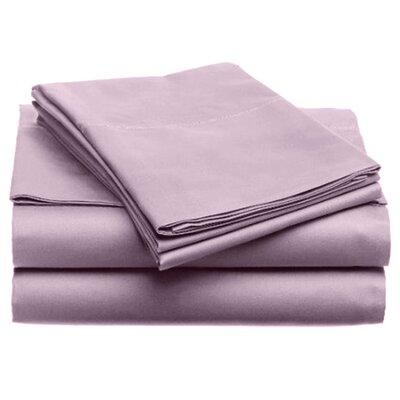 Quintal Sheet Set Size: King, Color: Lilac