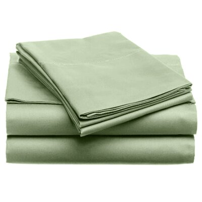 Quintal Sheet Set Size: Queen, Color: Sage
