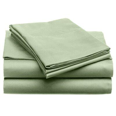 Quintal Sheet Set Color: Sage, Size: Twin