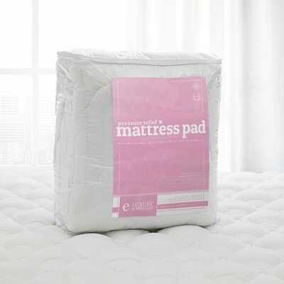 Pressure Relief 1.5 Down alternative Mattress Pad Size: Olympic Queen