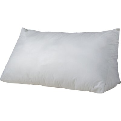 Reading Wedge Blend Fill Down and Feather King Pillow