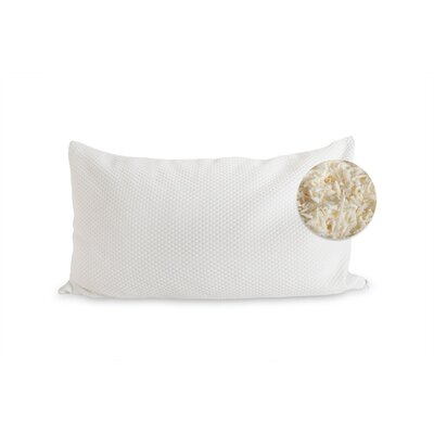 Natural Shredded Latex Pillow Size: King