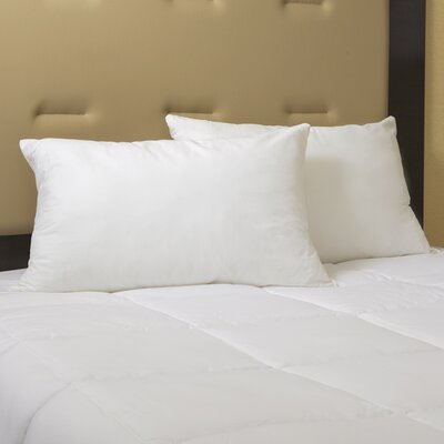 Exceptional Goose Down and Feather Pillow Size: Standard
