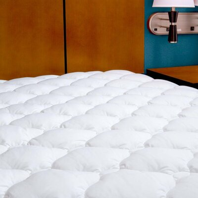 5-Star Hotel Polyester Mattress Pad Size: King