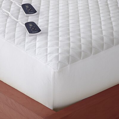 Electric Polyester Mattress Pad Size: King