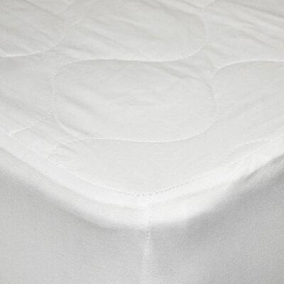 Cotton Waterproof Mattress Pad Size: Twin XL