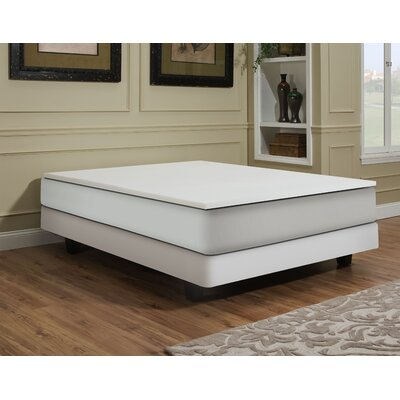 2 Memory Foam Mattress Topper Size: Twin