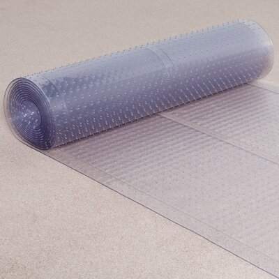 Clear Carpet Protector Doormat Mat Size: Rectangle 23x20