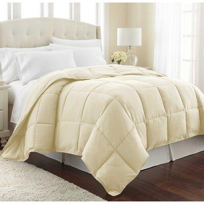Vilano Springs  Down Alternative Comforter Size: Twin / Twin XL, Color: Off White