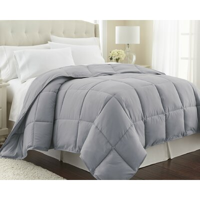 Vilano Springs  Down Alternative Comforter Size: Twin / Twin XL, Color: Steel Gray