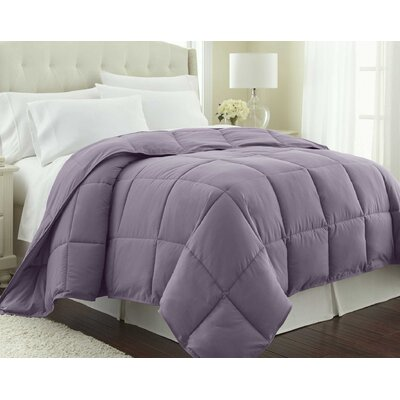 Vilano Springs  Down Alternative Comforter Size: King / California King, Color: Lavender
