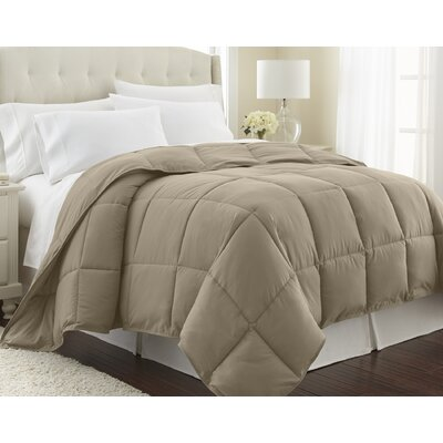 Vilano Springs  Down Alternative Comforter Size: Full / Queen, Color: Taupe