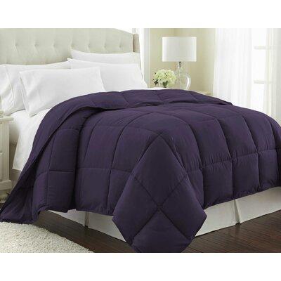 Vilano Springs  Down Alternative Comforter Size: King / California King, Color: Purple