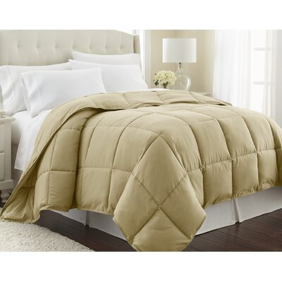 Vilano Springs  Down Alternative Comforter Size: Full / Queen, Color: Gold