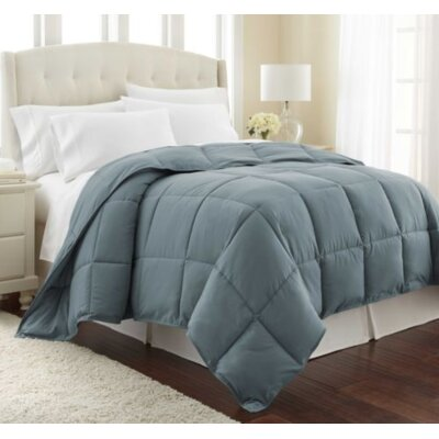 Vilano Springs  Down Alternative Comforter Size: Full / Queen, Color: Steel Green