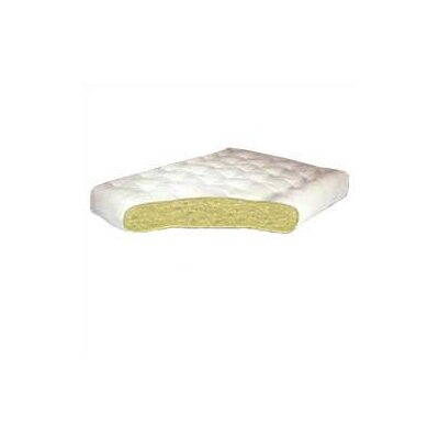 All Cotton 4 Futon Mattress Size: Twin, Thickness: 8